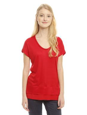 T-shirt in modal