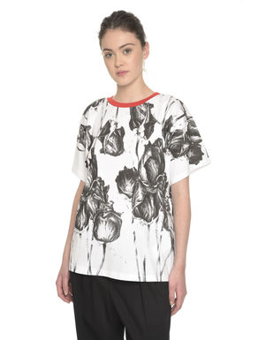 T-shirt con maxi stampa