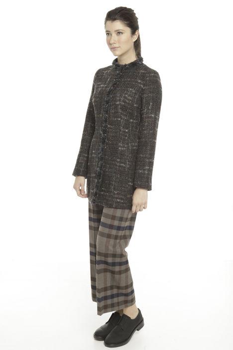 Capospalla in tweed bouclé