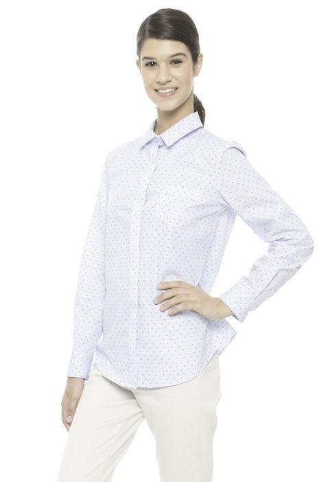 Camicia stampata a righe