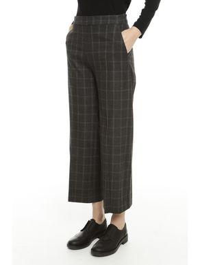 Pantaloni cropped disegnati