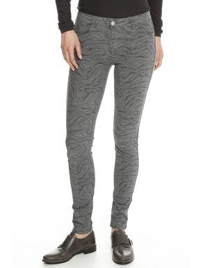 Pantalone reversibile in raso