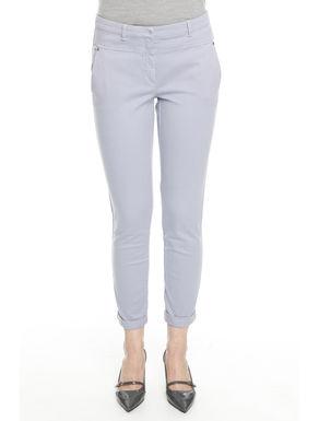 Pantaloni in gabardina strtech