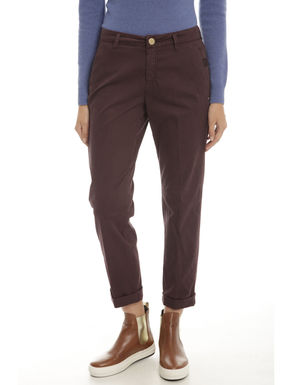 Pantaloni chino in cotone