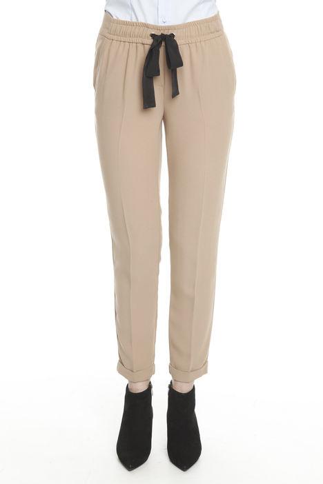 Pantaloni con cintone elastico