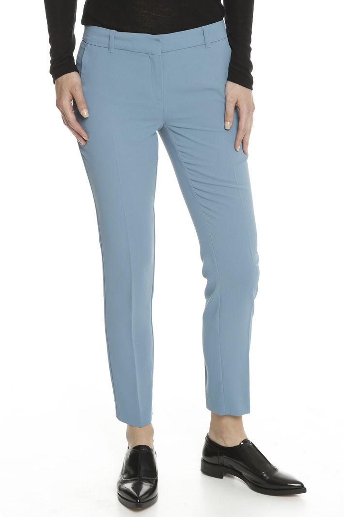 Pantaloni in crepe