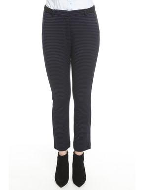 Pantaloni in jersey rigato