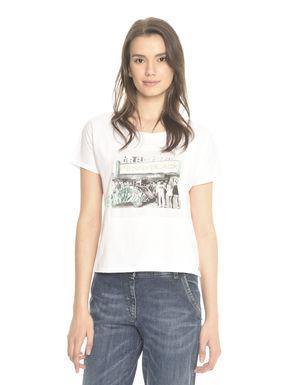 T-shirt boxy fantasia