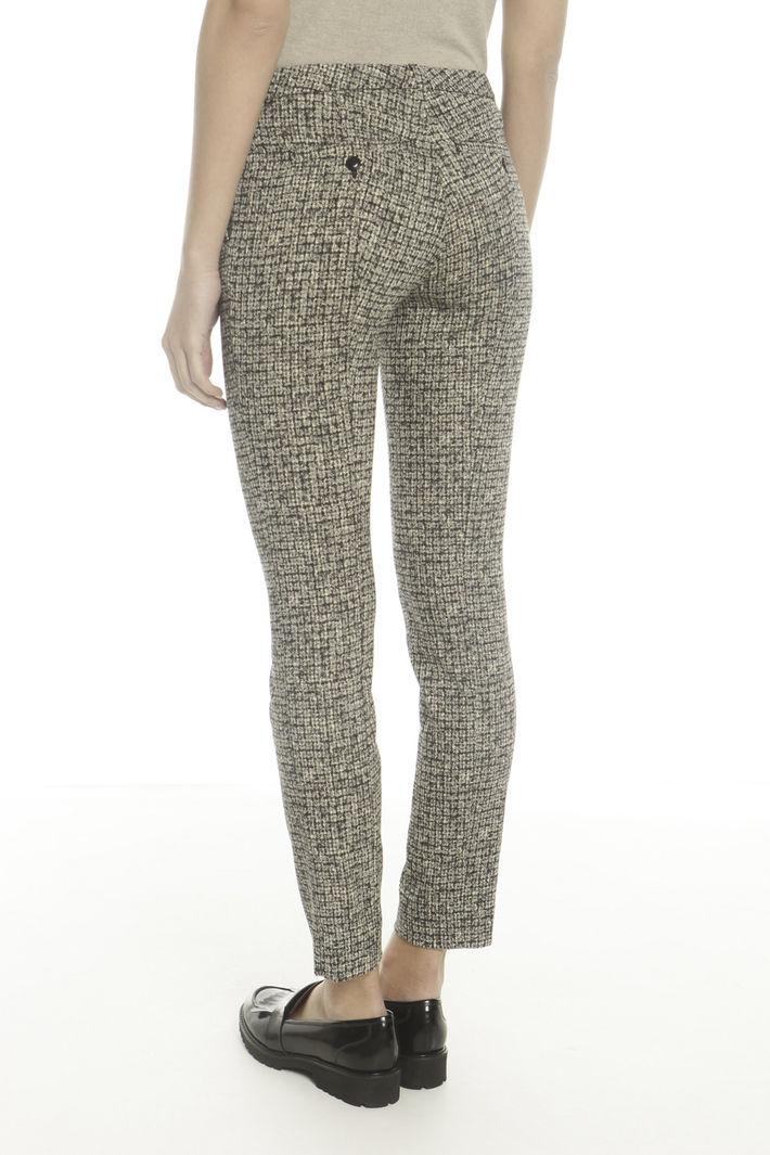 Pantalone effetto tweed Diffusione Tessile