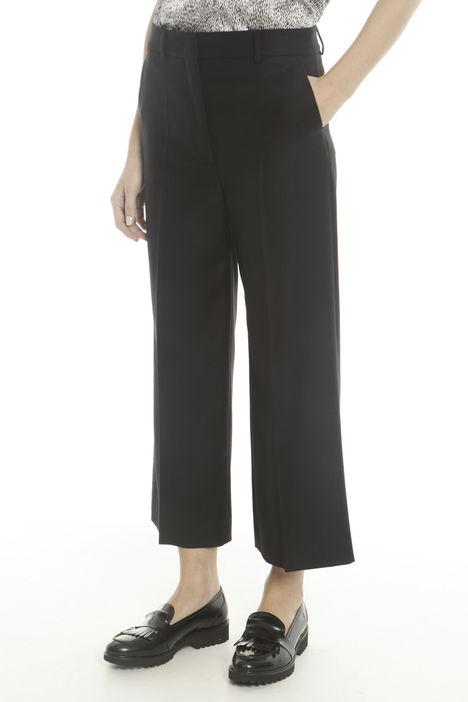 Pantaloni in flanella di lana