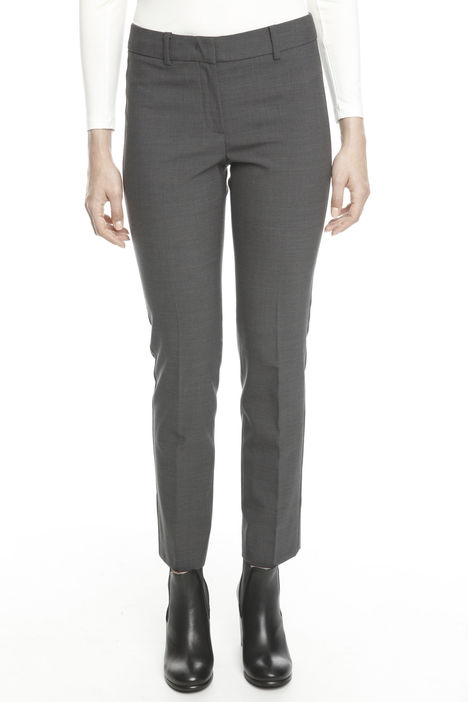 Pantalone in raso bistretch
