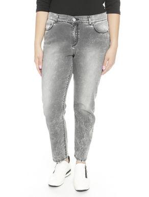 Pantaloni in denim delavé