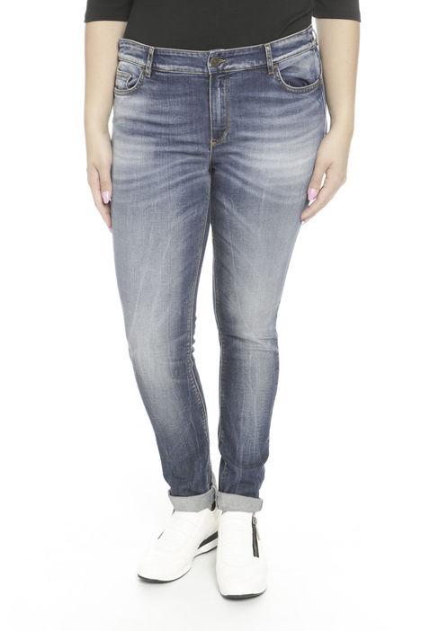 Pantaloni in denim stonewashed