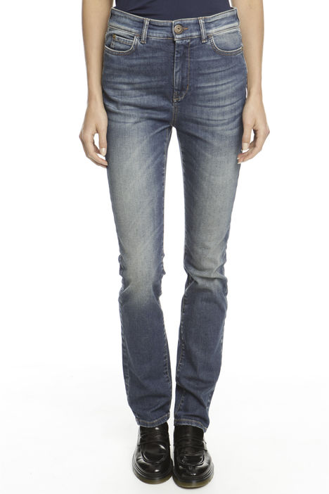 Pantalone skinny in denim