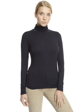 Dolcevita in jersey stretch