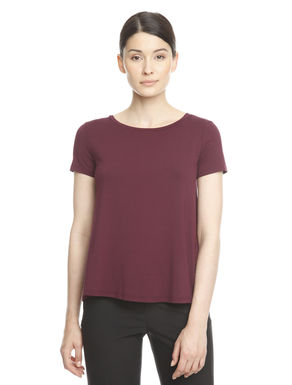 Top in jersey stretch