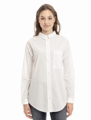 Ampia camicia in popeline