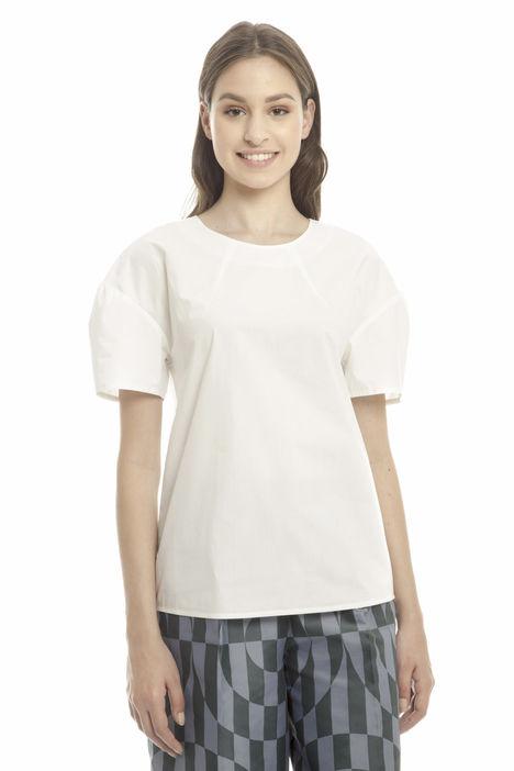 Camicia con maniche fantasia