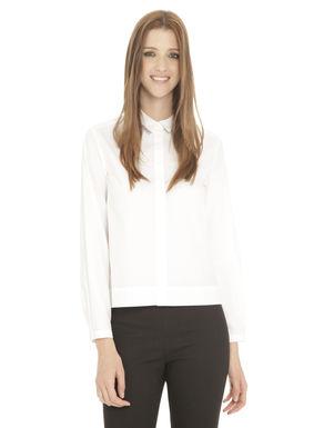 Camicia svasata con plissè