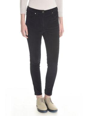 Pantaloni aderenti in velluto