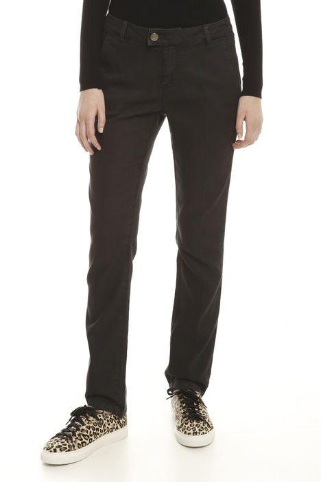 Pantaloni in lyocell stretch