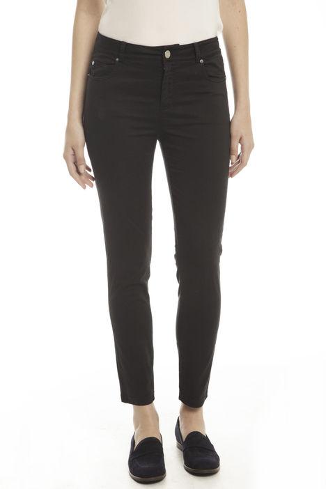 Pantaloni aderenti in cotone