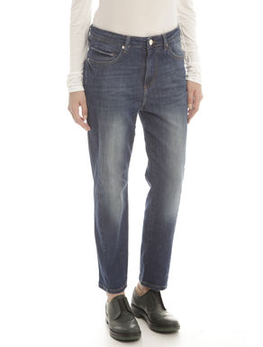 Pantaloni in denim stonewashed
