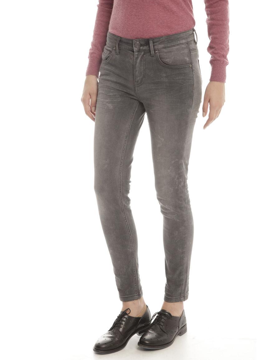 Pantaloni in denim con pieghe