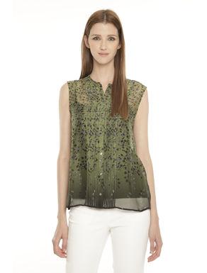 Camicia sfumata in seta