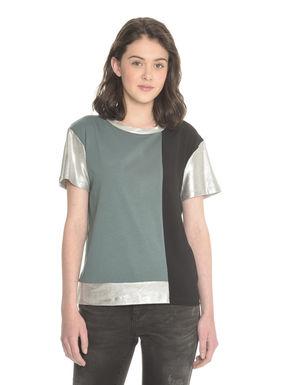 T-shirt con inserti spalmati