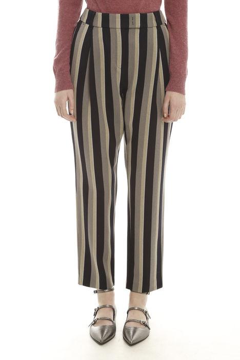 Pantaloni in tessuto misto