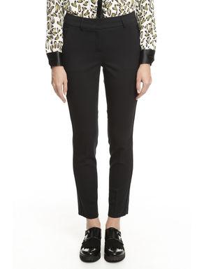 Pantalone con inserto laterale
