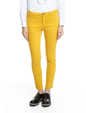 Pantalone in raso smerigliato