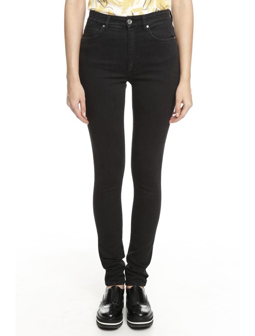 Pantalone aderente in denim