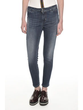 Pantaloni skinny in denim