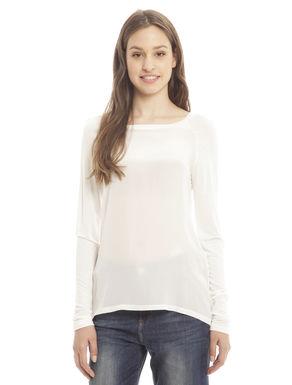 T-shirt in jersey di viscosa