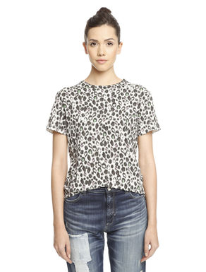 T-shirt con stampa all over