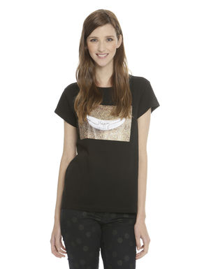 T-shirti in jersey con stampa