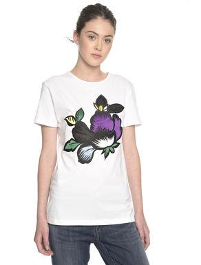 T-shirt con fantasia