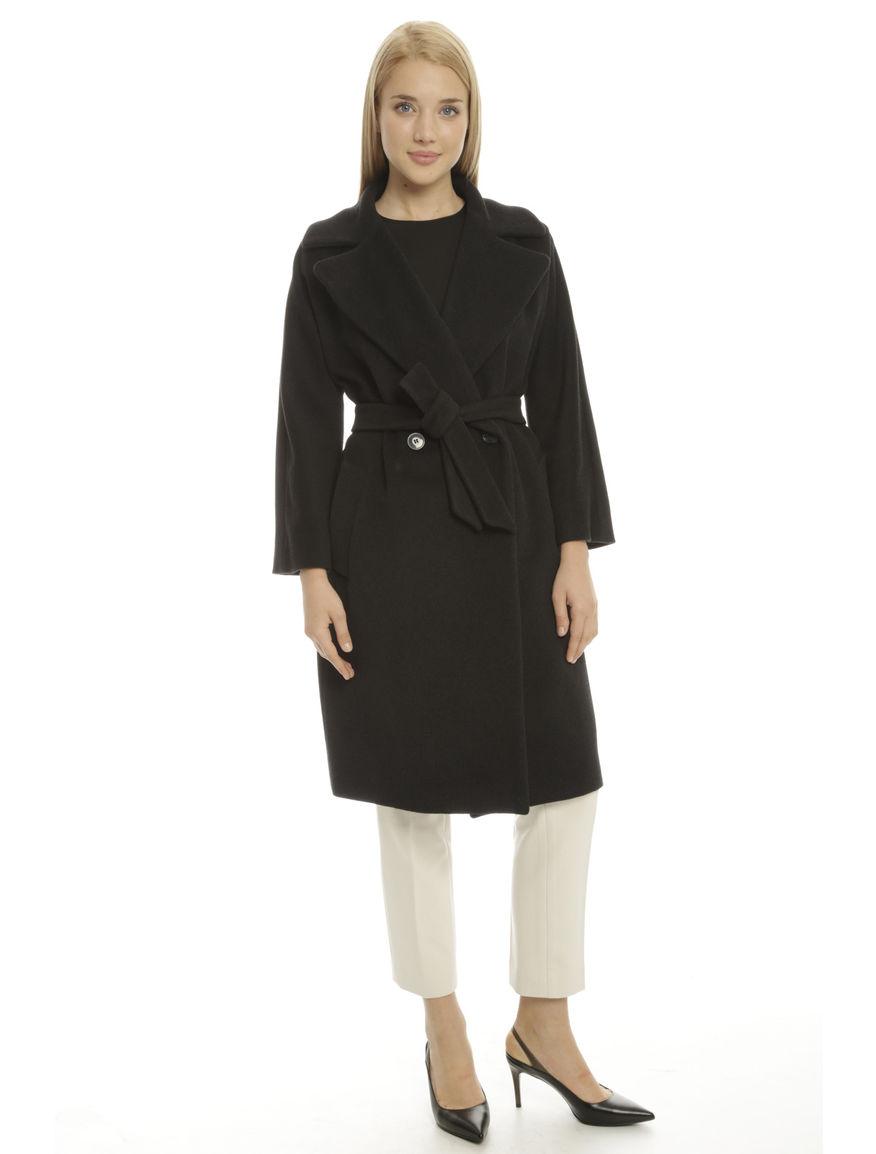 Cappotto in deap di misto lana