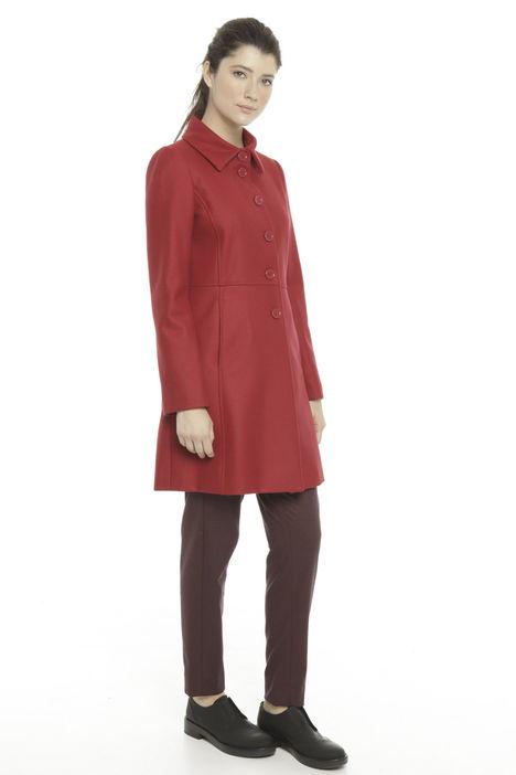 Cappotto in misto lana vergine