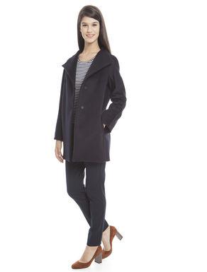 Capospalla in drap di lana