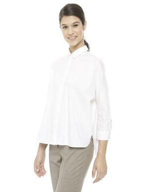 Camicia ampia in cotone