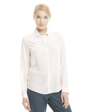 Camicia in crepe stampata