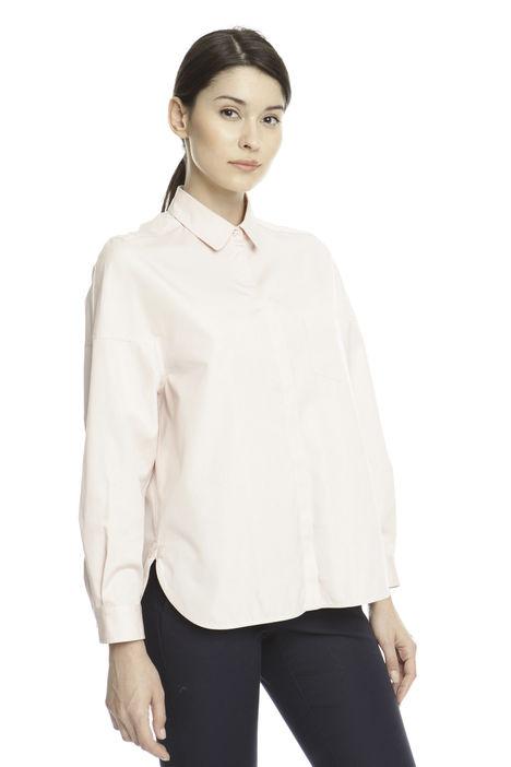 Camicia in cotone con spacchi