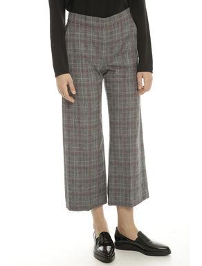 Pantalone cropped tinto filo