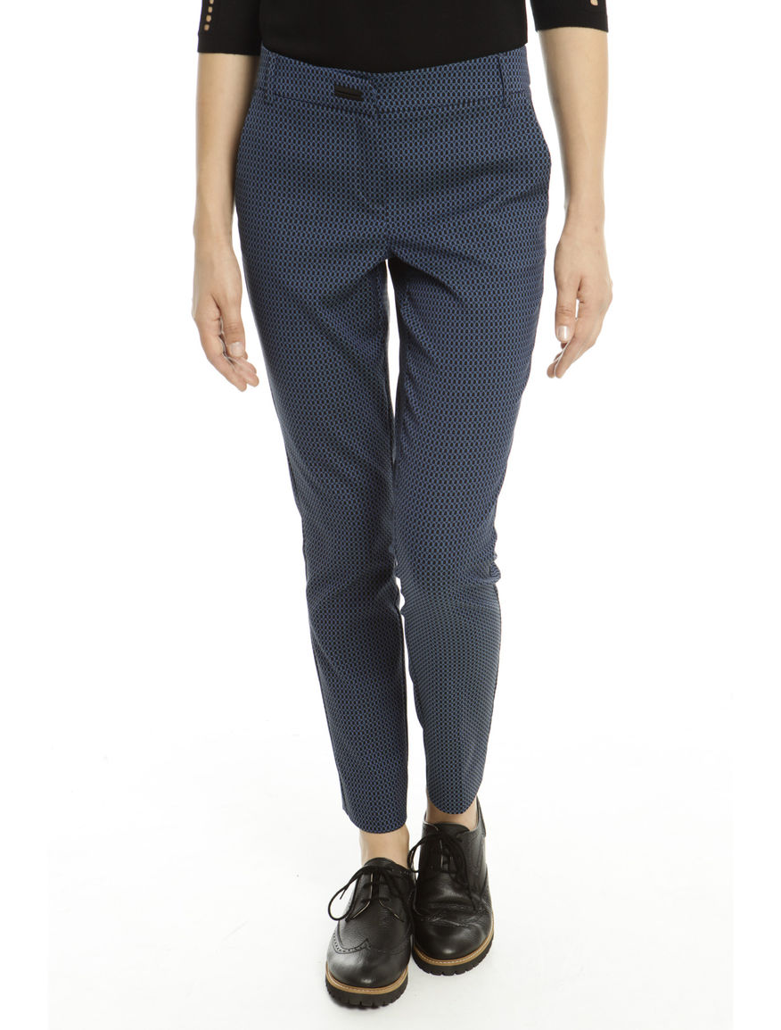 Pantaloni misto cotone stretch