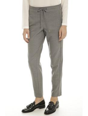 Pantaloni in lana leggera