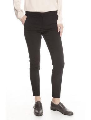 Pantaloni stretch misto cotone