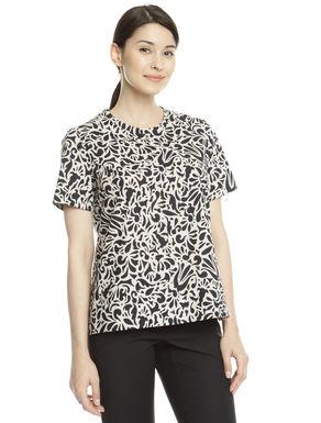 T-shirt in tela di cotone